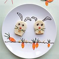 开心早餐,萌萌小兔陪你玩
