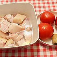 番茄猪蹄汤的做法图解1