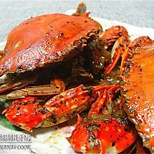 新加坡名菜:黑胡椒蟹