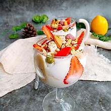 #爽口凉菜,开胃一夏!#缤纷酸奶水果杯