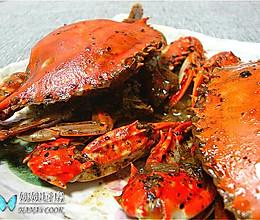 新加坡名菜:黑胡椒蟹的做法