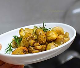 黑胡椒口蘑的做法