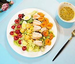 清新三文鱼沙拉的做法