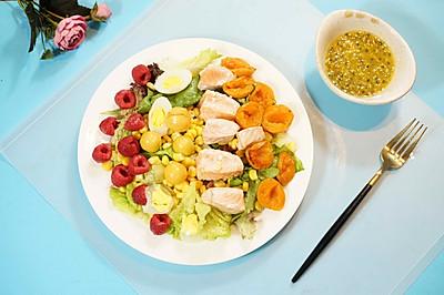 清新三文鱼沙拉