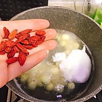 #美食新势力#夏季消暑甜品之鲜莲荷包甜汤的做法图解13