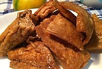 油豆腐蚝豆腐皮-----家常豆腐做法的做法