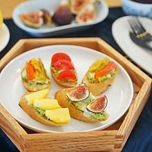 创意早餐|开放式三明治,随心所欲 #花10分钟,做一道菜#