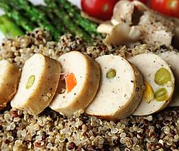 diy鸡肉肠,低脂与美味并存(每根约为90大卡)的做法