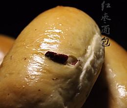 红枣面包的做法