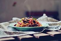 黑椒牛柳炒意粉的做法