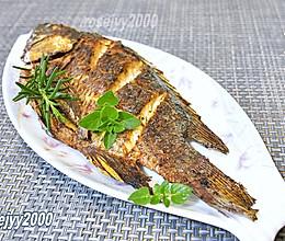 香草烤罗非鱼的做法