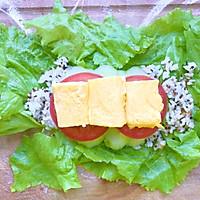 #美食新势力#减脂早餐—生菜包饭卷的做法图解5