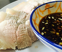 蘸肉料汁的做法