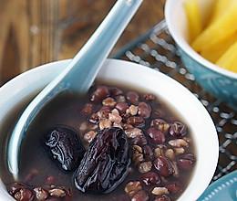 红枣红豆燕麦粥#急速早餐#的做法