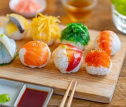 #秋天怎么吃#手鞠寿司|玲珑可爱的做法