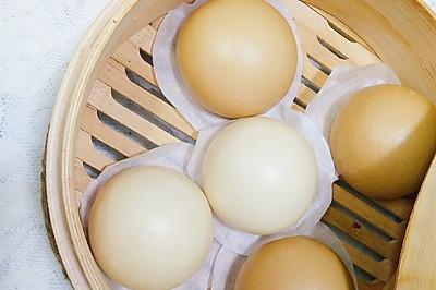 奶香馒头---解密水光肌肤(无需泡打粉)