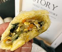 #今天吃什么#玉米面素菜包的做法