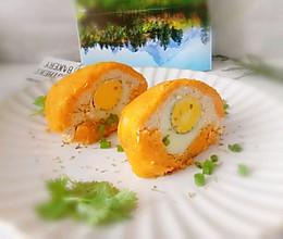#营养小食光#无油.低卡《红薯苏格兰蛋》的做法