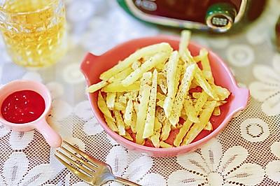 健康无油酥脆薯条在家就能做