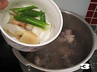 清炖白萝卜牛腩汤的做法图解3
