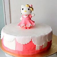Kitty翻糖蛋糕(二)的做法图解8