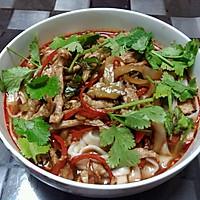 榨菜肉丝面—乌江榨菜