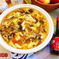 #福气年夜菜#暖心暖胃,减脂消食-家常酸辣汤的做法图解18
