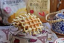 芝麻牛奶华夫饼的做法
