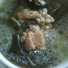 海带薏米排骨汤--美丽厨娘
