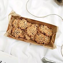 红糖椰蓉燕麦饼干