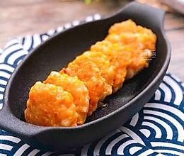 玉米鲜虾饼的做法