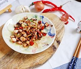 只要1分钟,4步出锅呛炒章鱼脚:麻辣鲜香,低脂高蛋白的做法