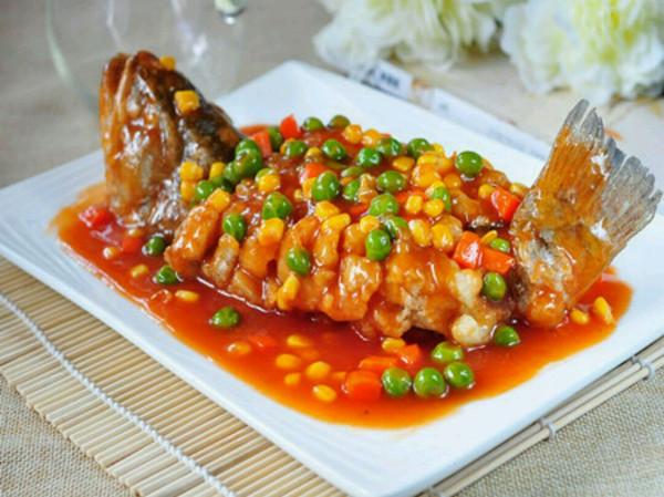 茄汁鲈鱼的做法