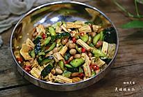 凉拌腐竹花生米的做法