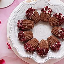 #精品菜谱挑战赛# 蔓越莓巧克力玛德琳