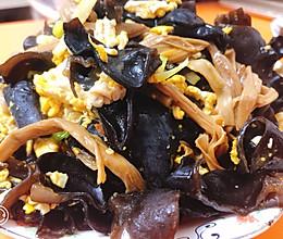 黑木耳黄花菜炒蛋的做法