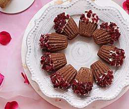 #精品菜谱挑战赛# 蔓越莓巧克力玛德琳的做法