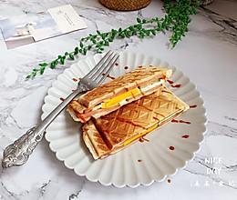 #肉食者联盟#火腿鸡蛋三明治的做法