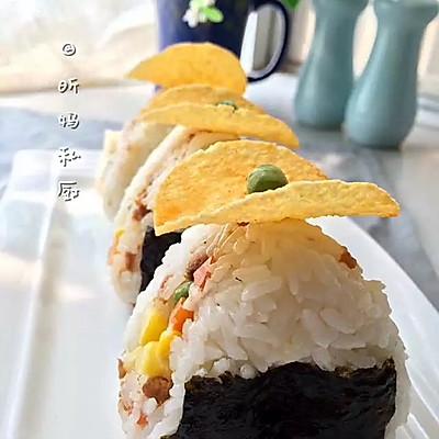 香甜米粒饭团子