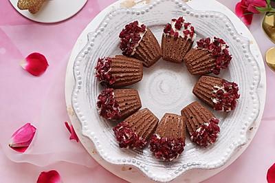 蔓越莓巧克力玛德琳