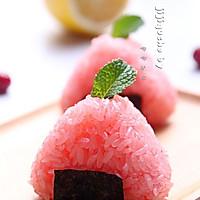 蔓越莓樱花爆浆饭团的做法图解8