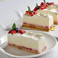 草莓冻芝士蛋糕(视频菜谱)的做法图解13