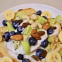 清爽甜蜜早午餐甜点酸奶水果法棍的做法图解5