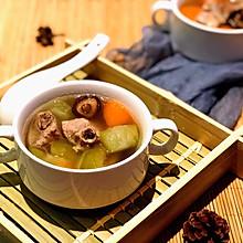 冬瓜胡萝卜排骨汤
