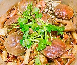 #下饭红烧菜#吮指肉蟹煲的做法
