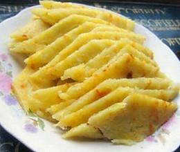 土豆丝鸡蛋饼的做法