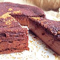 神奇的巧克力蛋糕 自动分层 手残不会分片星人的救星的做法图解1