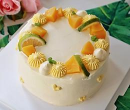 #我要上首焦#自制奶油蛋糕的做法