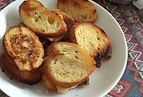 法棍黄油芝士面包干的做法