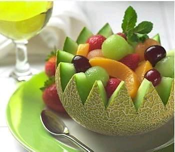 美味的水果沙拉